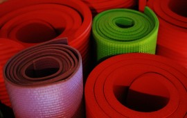 Colorful mats