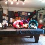 Inside Howling Dog Studio